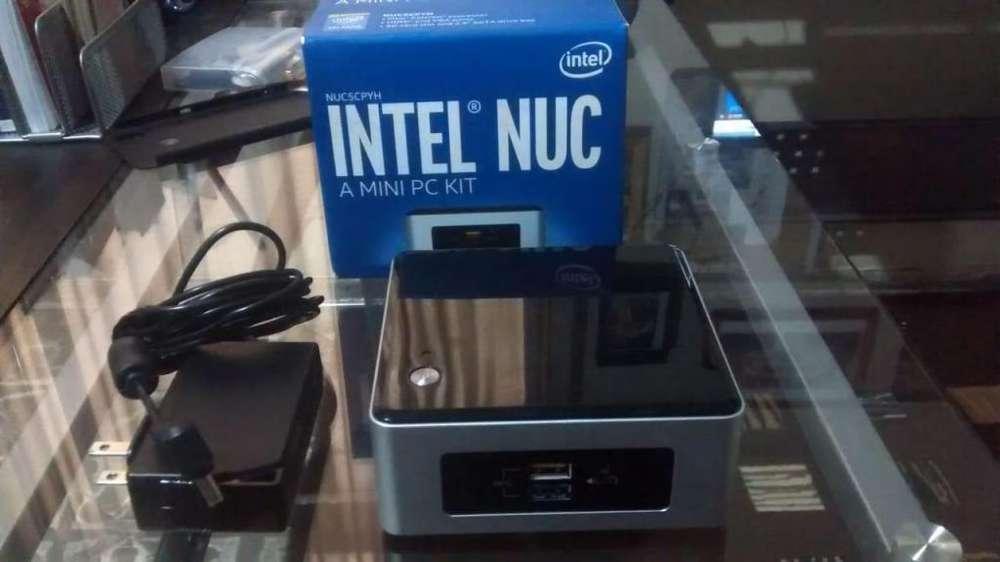 CPU portátil Intel Nuc Mini Pc Kit
