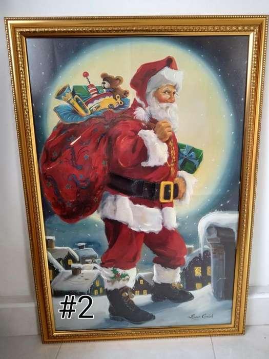 Cuadro Papá Noel