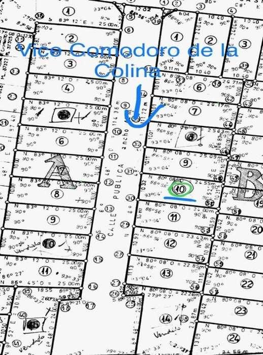 VENDO TERRENO ZONA TIRO FEDERAL - Calle V. de la Colina