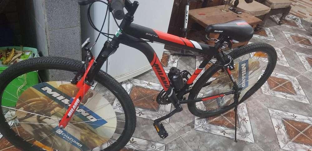 Vendo Milano con Suspencion Nueva Rod 29