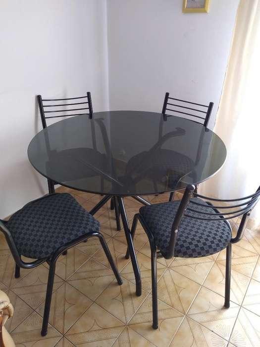 Mesa de Cocina con 6 Sillas