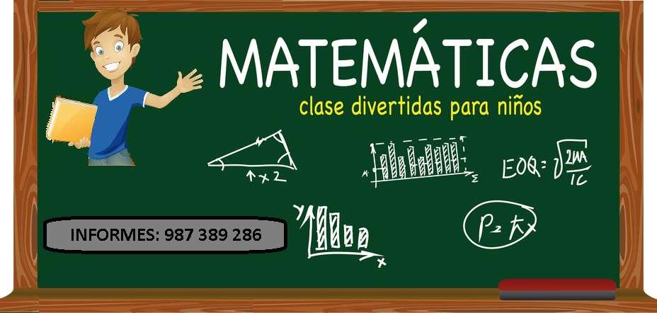 Clases de Matematica y Comunicacion para niños