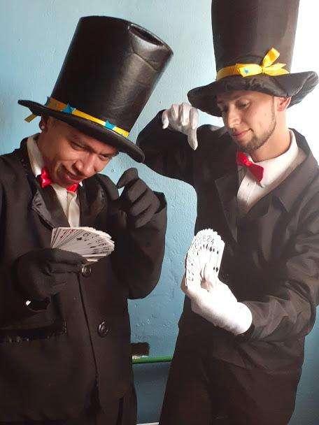 show de magos magia semi profesional Animadores para eventos y recreadores