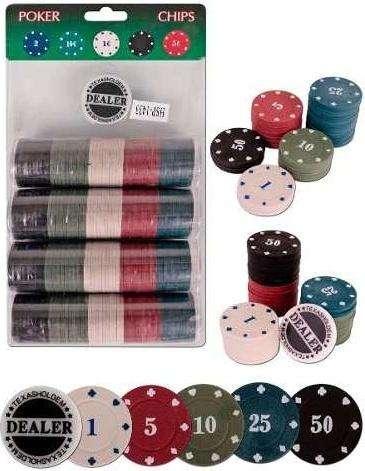 Fichas Para Poker 200 Pcs