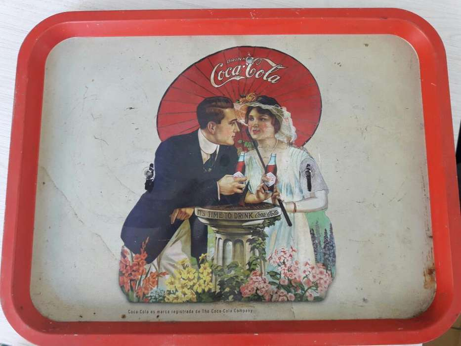 Bandeja de Coca Cola