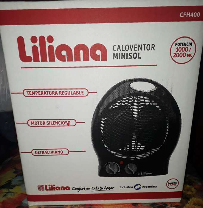 Caloventor Liliana 2000w