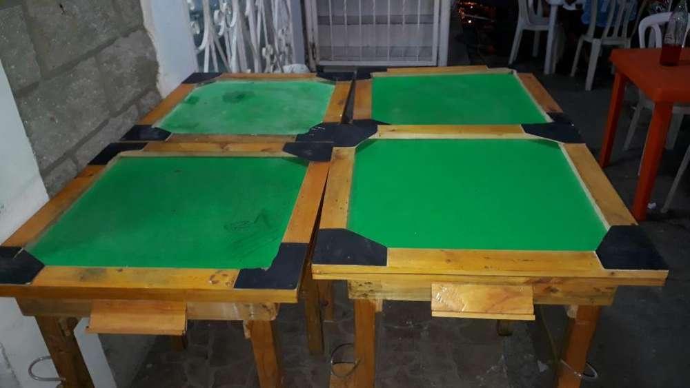 Mesas de Domino