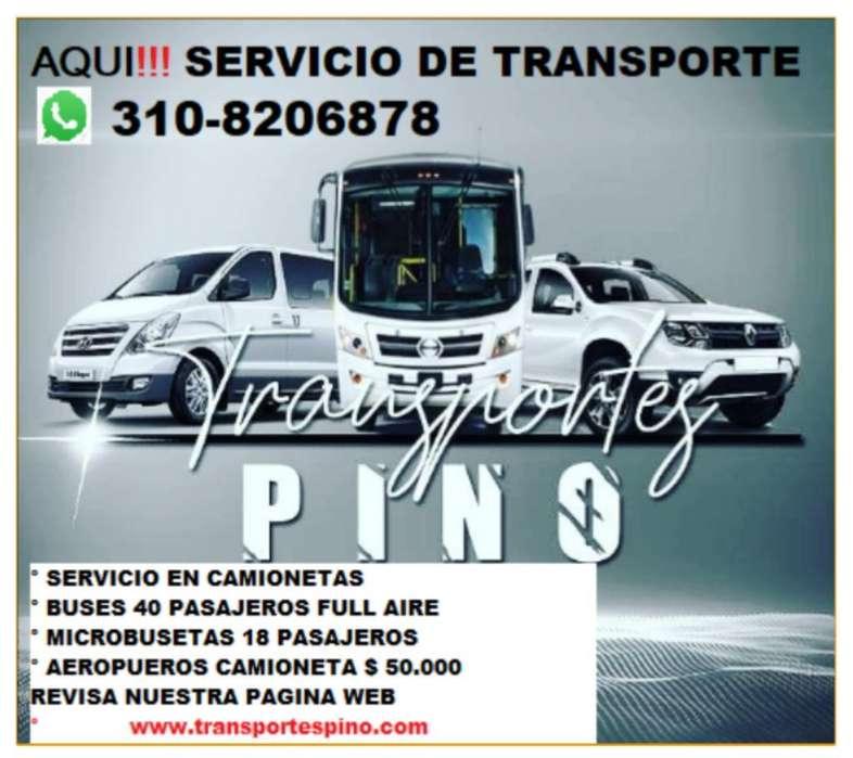 Transporte Camioneta Bus Turismo Paseos