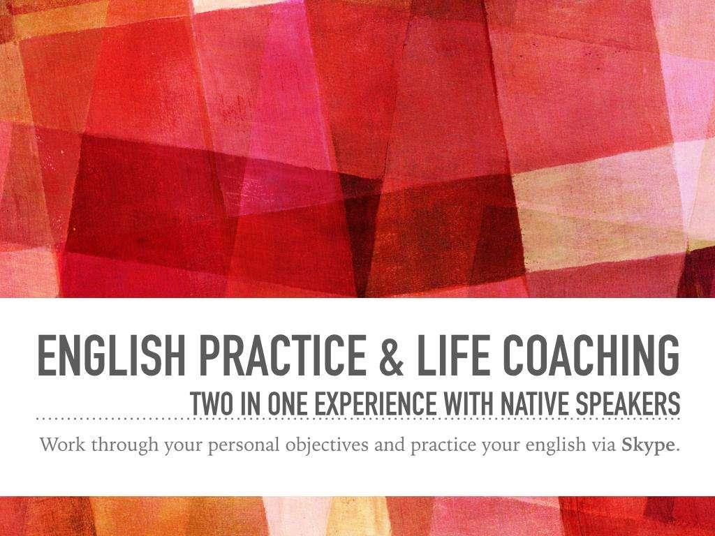 Inglés y coaching vía Skype o Hangouts