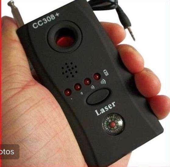detector portable de camaras y microfonos ocultos, pequeño y funcional