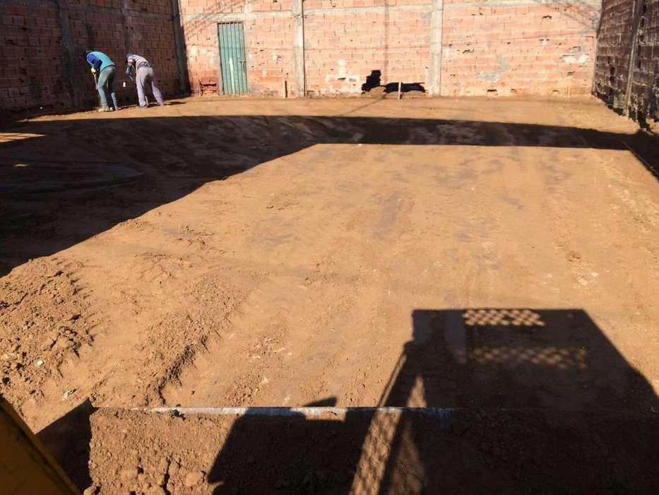 nivelaciones,plateas, excavaciones