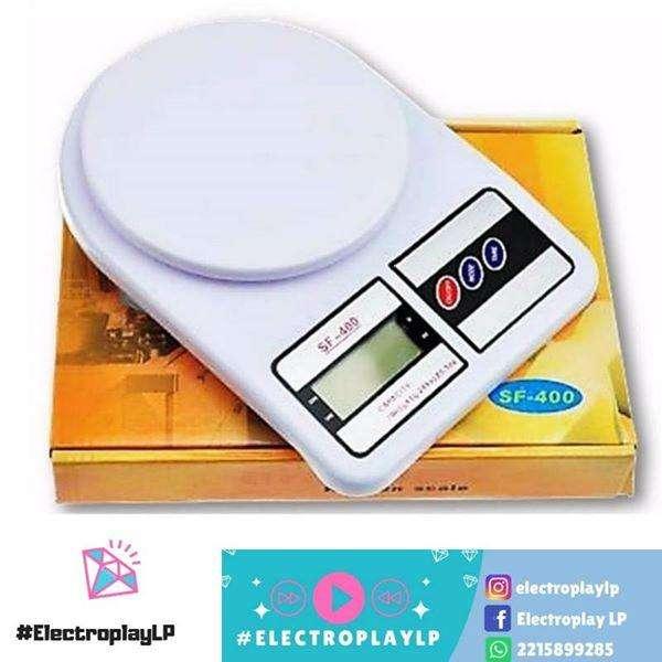 Balanza digital de cocina con pila incluidas !!!