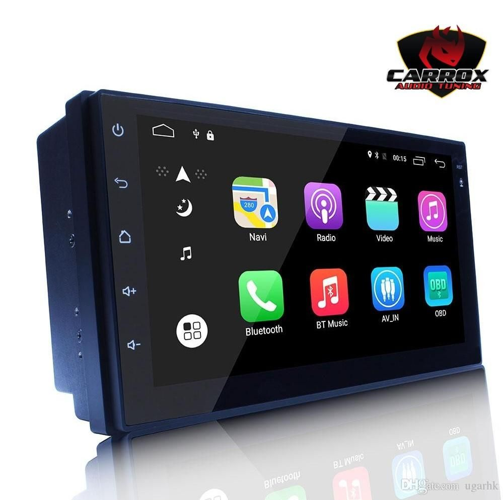 AUTORADIO ANDROID WIFI BLUETOOTH GPS YOUTUBE MP3 MP4 DVD