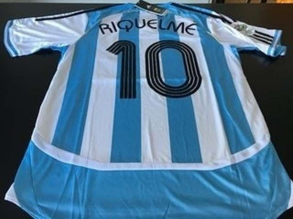 Camiseta Argentina 10 Riquelme 2006
