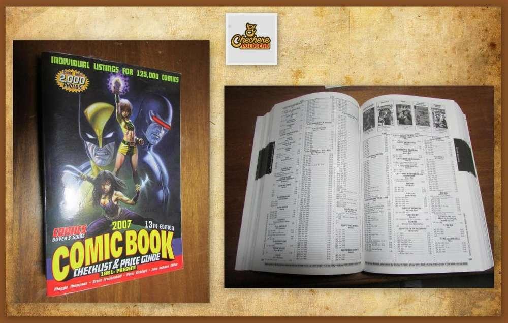 2007 Lista de chequeo y guía de precios de comics