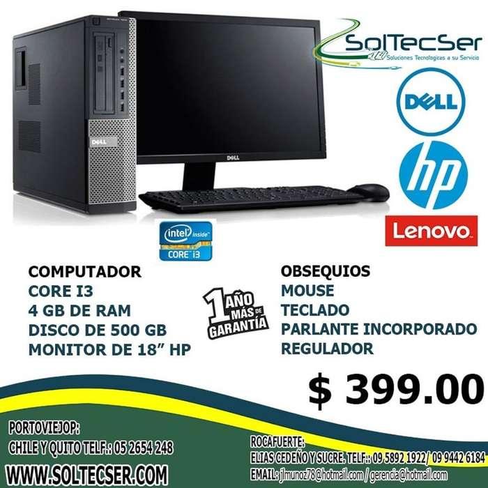 Computadoras Completas Desktop Hp Lenovo