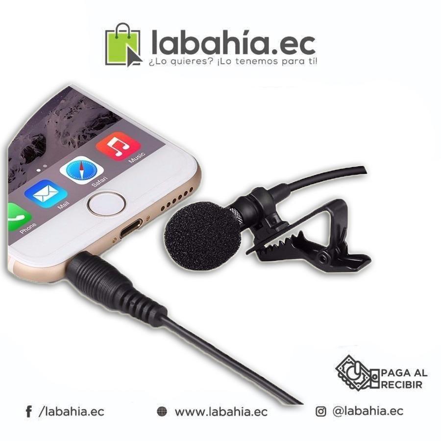 producto nuevo: Micrófono De Solapa Para Celulares, Facebook Live, Videos