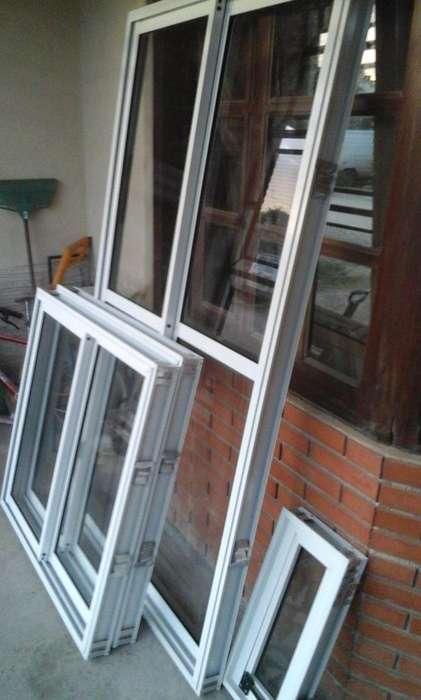 puerta balcon de <strong>aluminio</strong> corrediza de 150x200
