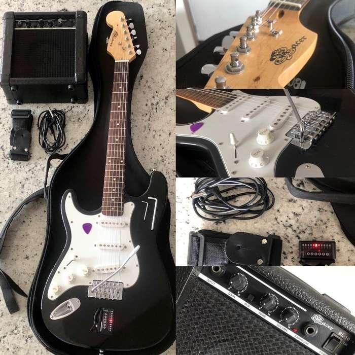 Guitarra Racer Usada