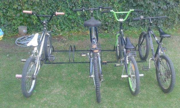 Bicicletero para Estacionar 5 bici bicicletas