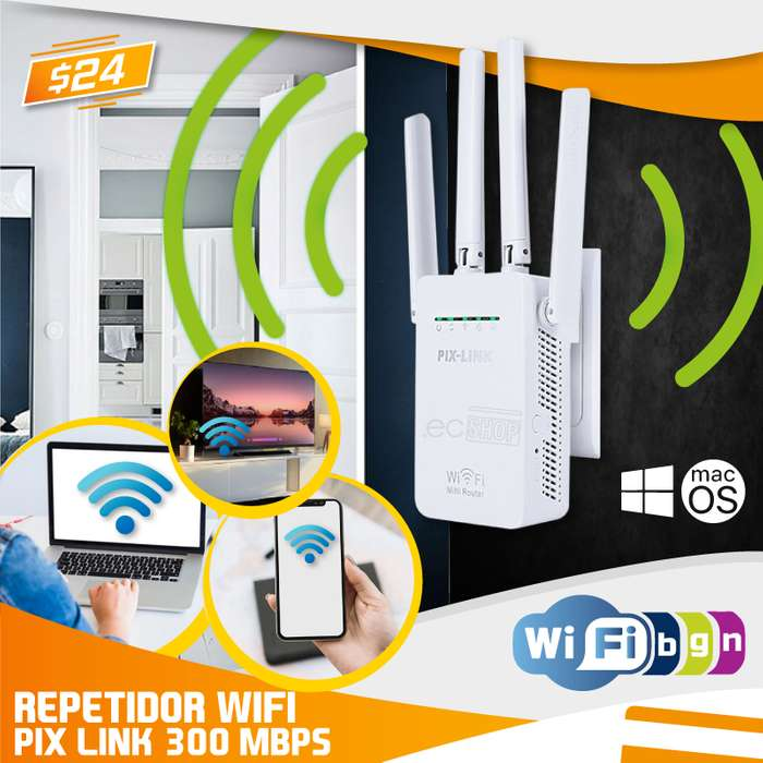 REPETIDOR WIFI INALÁMBRICO 300 MBPS