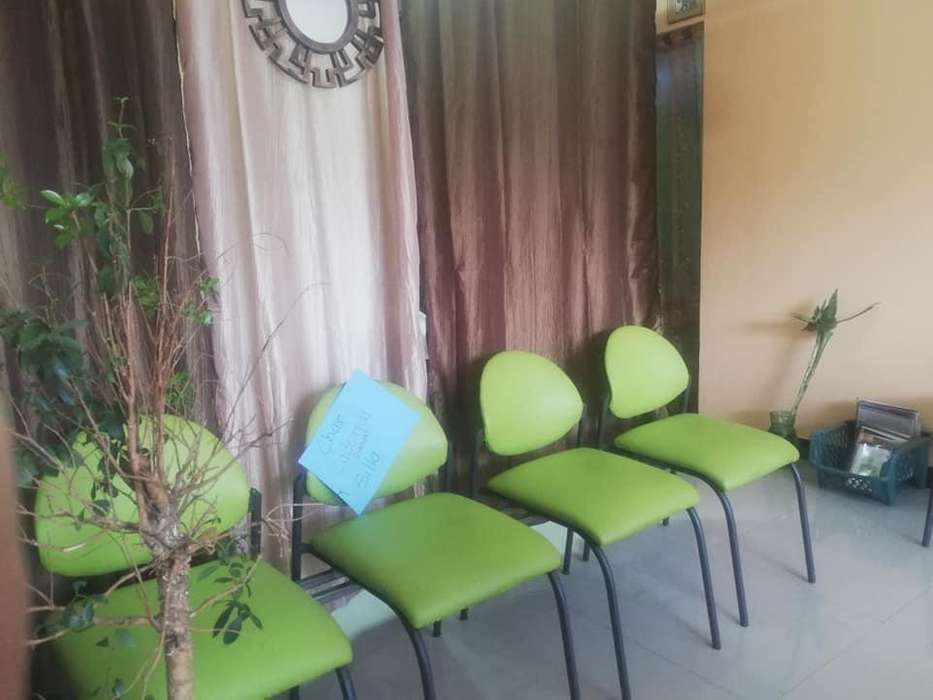 sillas para sala de espera
