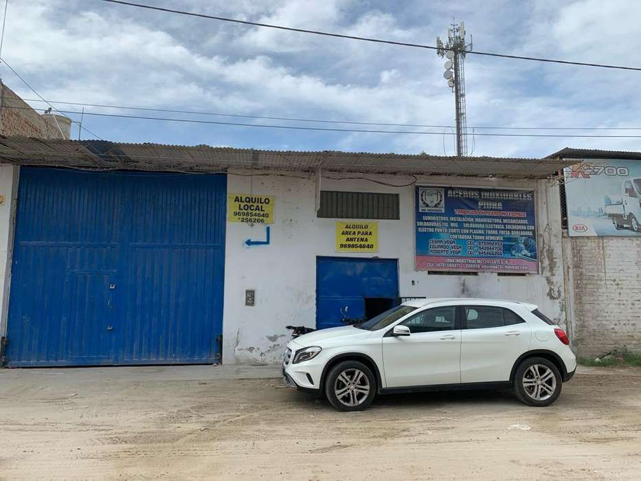Alquiler de Localzona Industrial Piura.