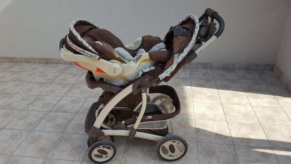 Cochecito para bebé y huevito marca GRACO Sungride 32