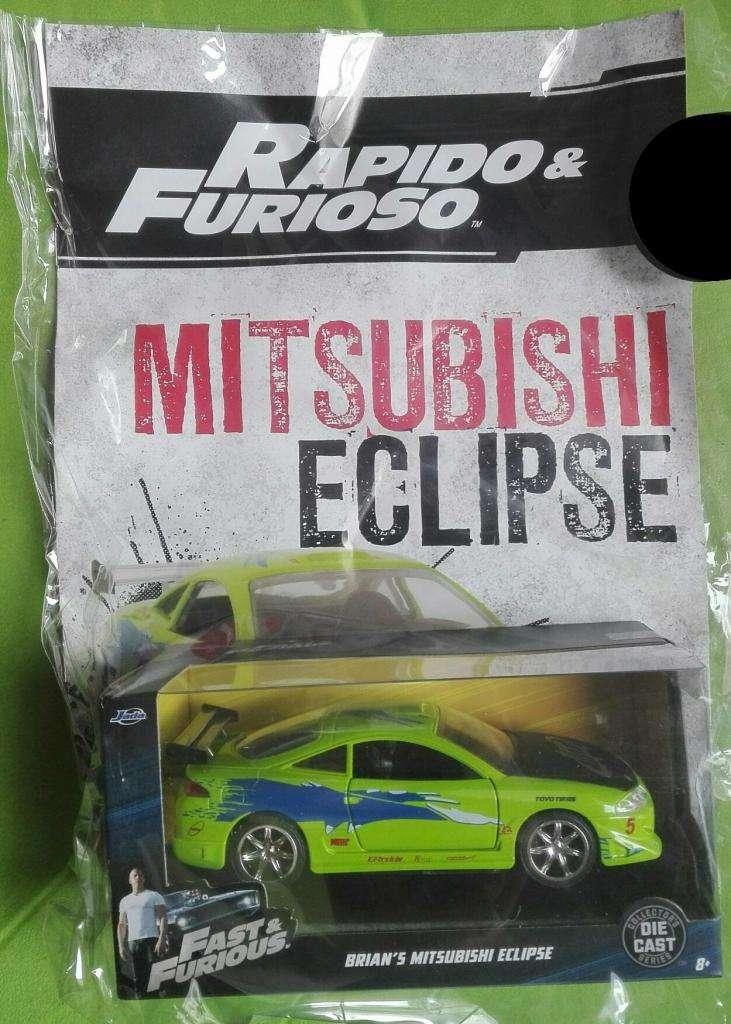 Rapido Y Furioso. Mitsubishi Eclipse. Escala 1/32