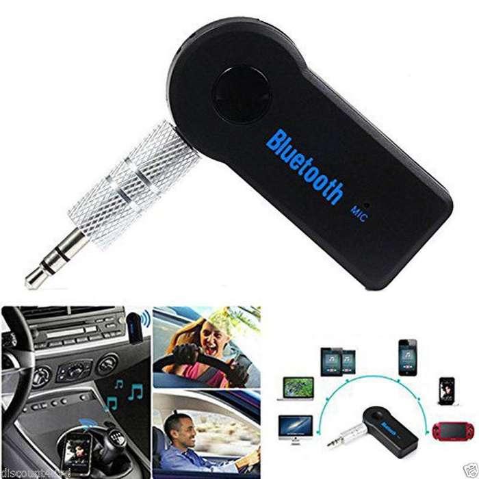 Receptor Auxiliar Bluetooth Audio Batería Recargable Soporta Llamada