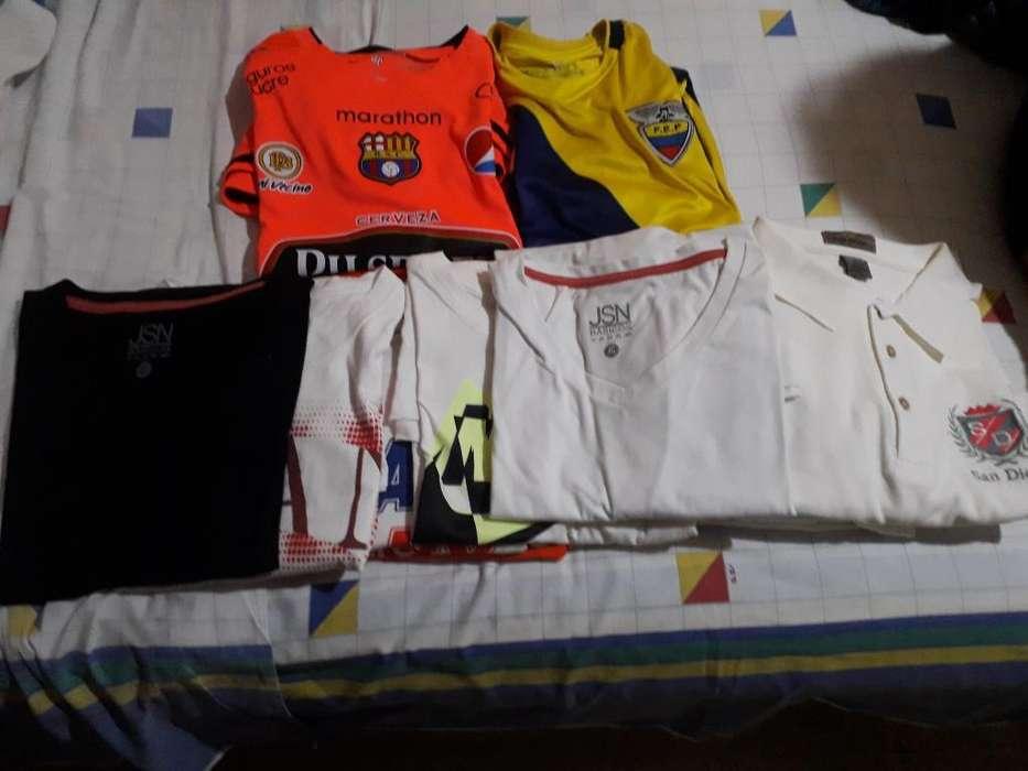 Remato Camisetas 11 Y 2 Pantalones