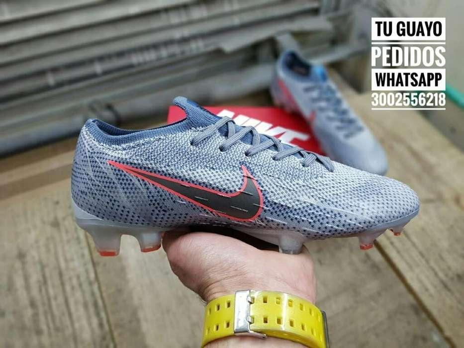 Guayos Nike Vapor Elite Gris