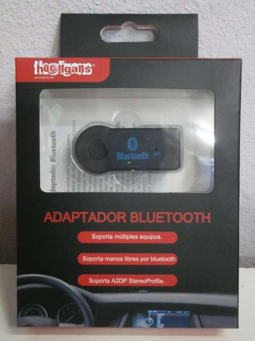 Adaptador Bluetooh con Bateria