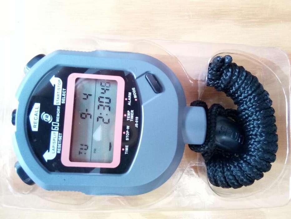 Cronómetro 60 Memorias Fit Sport Fitness