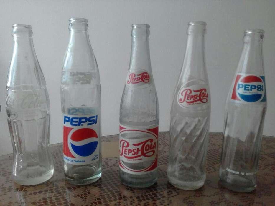 Botellas Antiguas de Gaseosa