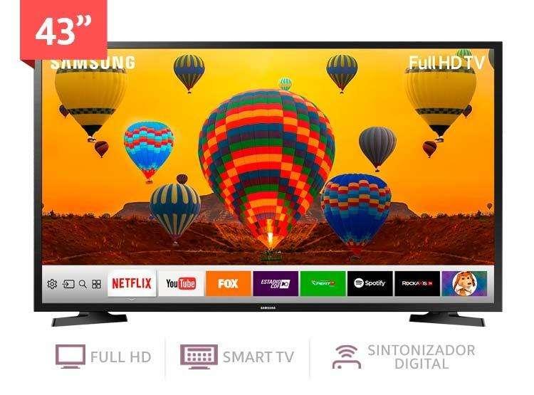 TELEVISOR SAMSUNG 43 MODELO 2018 SMART
