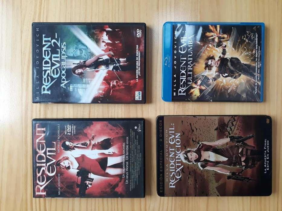 Peliculas originales Resident Evil