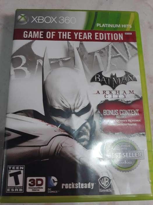 Juego de Batam Xbox 360