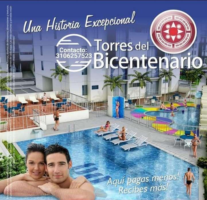 Vendo Apto Torres Del Bicentenario.