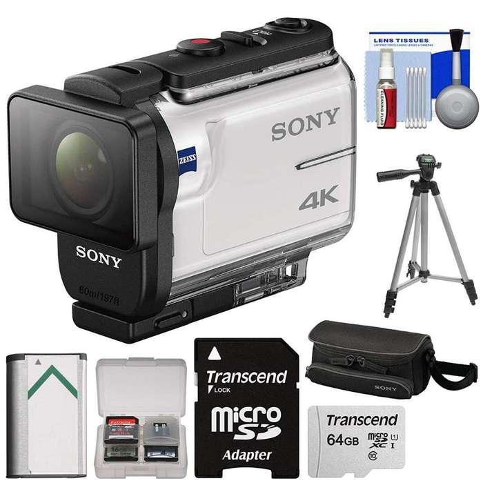 camara de accion Sony Fdrx3000 4k Con Wifi Y Gps, Extras