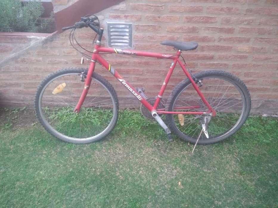 Bici Tomaselli rodado 26 18 velocidades