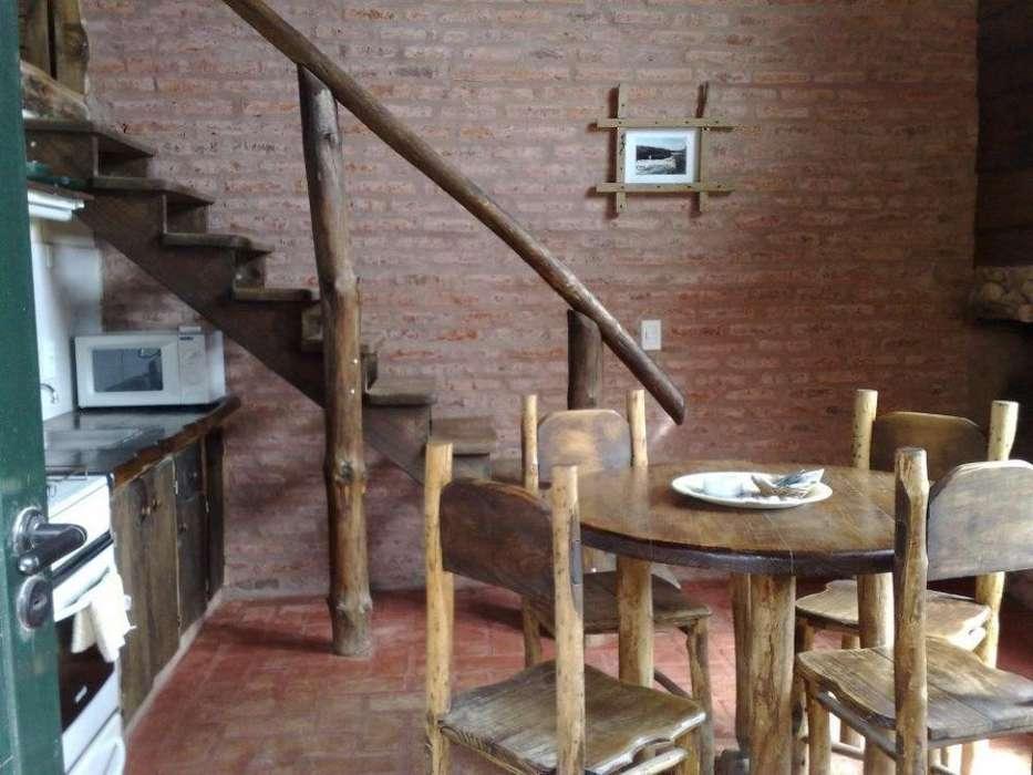 hn24 - Cabaña para 2 a 6 personas con cochera en Claromeco