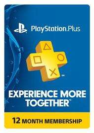 Playstation Plus 12 Meseps3 Ps4 Ps Vita