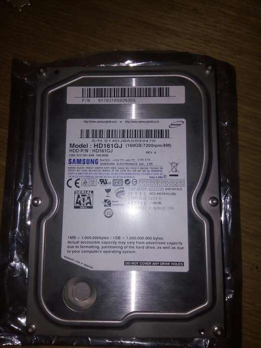 Disco Rigido Samsung 160gb
