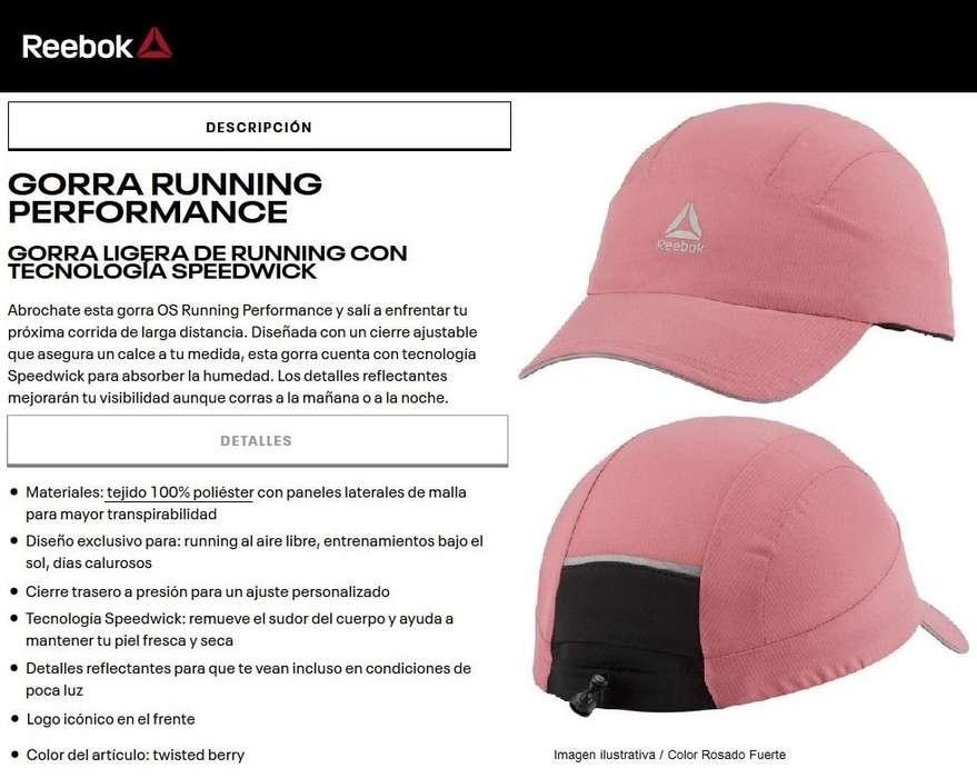 Gorra Running Reebok