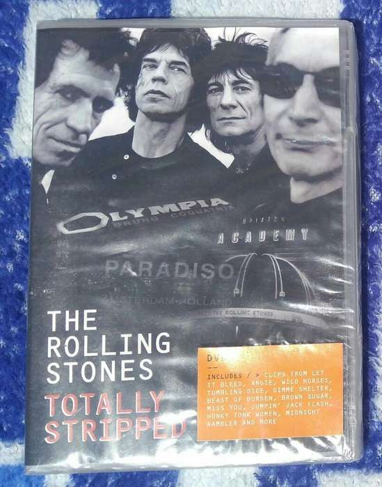 The Rolling Stones Totally Stripper Dvd
