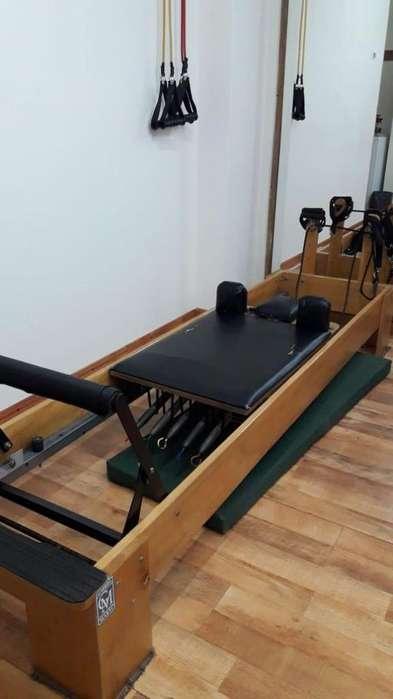 cama pilates reformer usada
