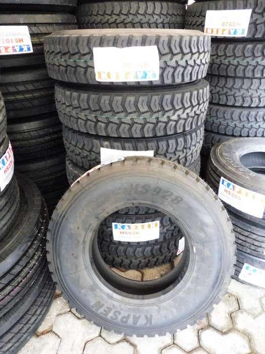 Vendo Llantas Camion Rin 16, 17.5, 22.5 215/75R17.5, 235/75R17.5, 9.5R17.5 7.50R16 , 315/80R22