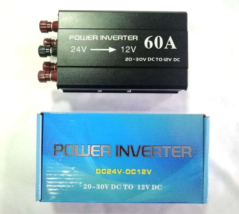 Inversor Convertidor Regulador De Voltaje De 24v A 12v 60a