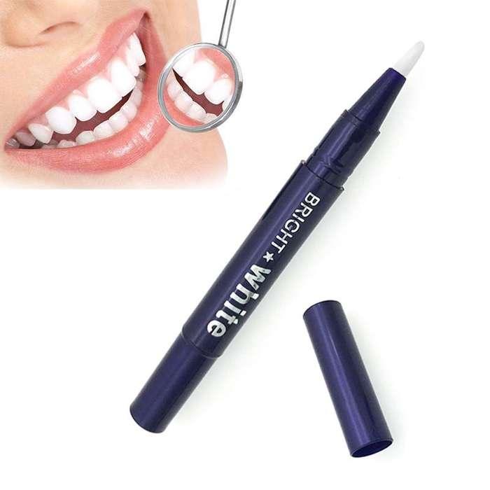 Lápiz blanqueador de dientes de Gel de 2,5 ml blanco deslumbrante, fácil de usar.